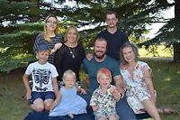 ISO Live-out nanny in fort saskatchewan