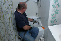 Drain Cleaning Professional with a Journeyman Plumber.