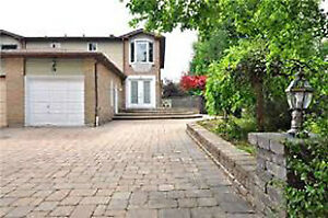 One bedroom upstairs in a house for rent in Markham