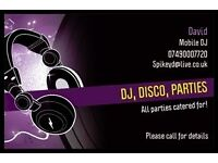 *MOBILE DJ SERVICES* DJ Dave available for any event - Cheap prices - Call or text now for a quote!