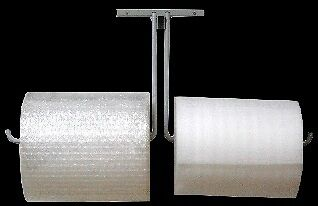 "12"" Double Arm Wall Mount Bubble Wrap® Bubblewrap Foam Cushioning Roll Dispenser"