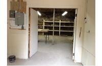 Warehouse or Storage space