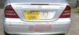 Mercedes Benz W203 C Class rear Lights Complete
