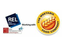 Field Sales Representative - Weetabix - Reading