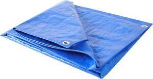 MUST SELL: 14 ft by 18ft Blue Camping Tarp!