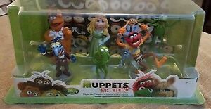 Muppet's Most Wanted 7 piece PVC figure playset (New)