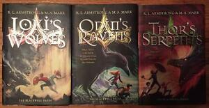 Blackwell Pages trilogy of H/C Books