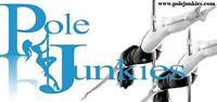 Beginner Spin Pole Workshop at Pole Junkies ED May 13