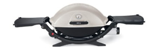 Weber Q2200 portable grill & 2 full propane tanks