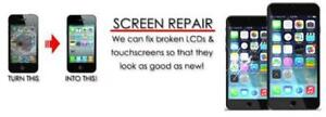 Professional cellphone screen replacement for a CHEAPER PRICE!