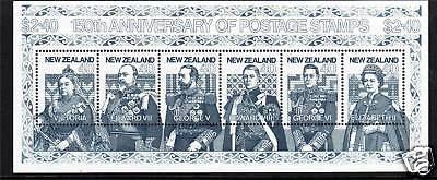 New Zealand 1990 Anniv.of Penny Black MS SG1568 MNH