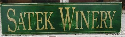 - PERSONALIZED WINE WINERY WOOD SIGN CUSTOM COLORS AND NAME  HAND PAINTED