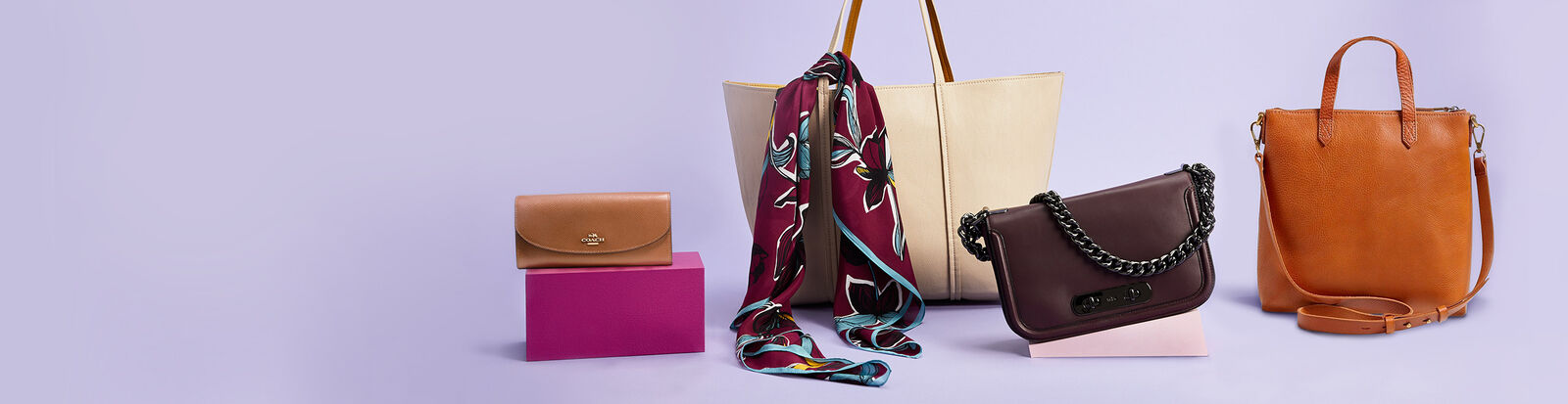 Fall accessories by Michael Kors, Tory Burch, and more.