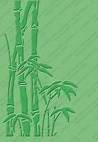 Cuttlebug BAMBOO 5 x 7 embossing folder - $8