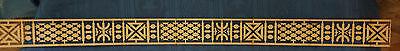orientalisches Dekor Zierleisten Orient Deko für Möbel, Fliesen, Wände  Berber