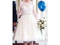 Wed2Be Anna Sorrano Wedding Dress - Size 14