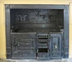 Old antique stove
