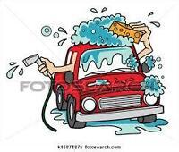lavage complet de voiture shampoing de voiture et cirage