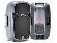JBL EON 305 speakers (pair) - New and unused bargain.