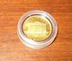 1/10oz  American Eagle Gold Coins, Maple Leaf & Philharmonic