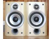 JVC SP-UXP5 Hi-Fi Stereo Bookshelf Speakers With Covers