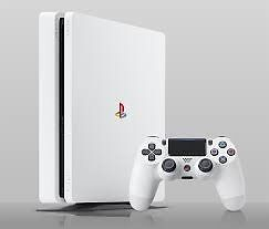 Slim white ps4 500gb