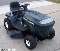 LOOKING TO BUY A RIDING LAWNMOWER