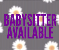 Are you in need of a babysitter?