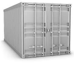 8 FT. X 20 FT. STORAGE CONTAINER RENTALS.