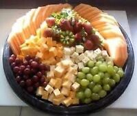 Party trays for Super bowl