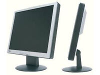 2 x pc monitors, both working collection only, just £4 each