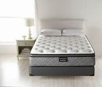 WholeHome, Sonoma II queen mattress and boxspring
