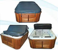 Custom Hot Tub Covers $385.00+Tax, Complete with Free Shipping W