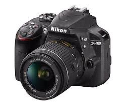 Wanted: Nikon D3400 or similar