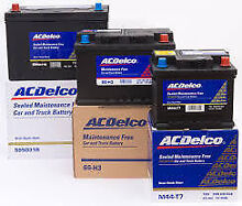 Batteries car truck tractor ACDelco Supercharge Bosch Optima New Murray Bridge Area Preview