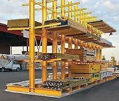 Pallet Racking - Cantilever -Industrial Shelving -  Guardrail - Mezzanine -  Wire Partition