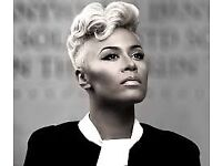 Emeli Sande (Manchester Arena) - 22 Oct 4x seated tickets £40 each ***LESS THAN COST PRICE**