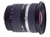 MINOLTA lens 17 - 35mm F2.8-4 D Sony DSLR alpha mount- Genuine Made In Japan
