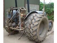 WANTED: CHEAP GREY FERGIE DIESEL TRACTOR WITH DUAL WHEELS