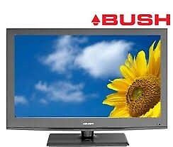 """40"""" FULL HD LCD TV BUSH WITH REMOTE BUILT IN FREEVIEW NO STAND READY TO WALL MOUNT BARGAIN AT £90"""