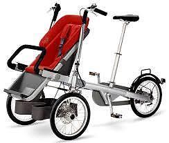 poussette/vélo pour bébé
