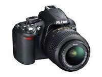 Nikon3100/studio lighting