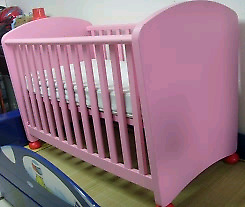 Ikea crib with mattress in excellent
