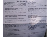 Ultrasound machine condition monitor/predictive maintenance device