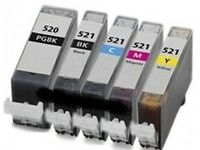 521 Ink Cartridges for Canon
