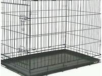 Large dog crate only a few months old vgc