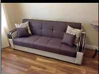 3 SEATER OR 2 SEATER TURKISH MALTA SOFA BED NOW AVAILABLE