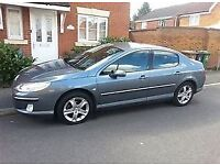 2004 PEUGEOT 407 HDI DIESEL, 55 MPG, NEW CAMBELT, ALLOYS, LONG MOT.