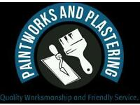 Painter - Plasterer - Decorator:- Agreed daily rate or small jobs quoted