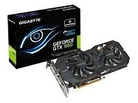 Nvidia GTX 960 Gigabyte Graphics Card